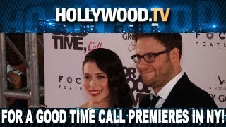 For A Good Time, Call... - The Stars celebrate For A Good Time Call - Hollywood.TV