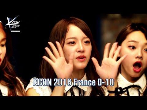 [KCON 2016 France] Star Countdown D-10 by I.O.I