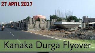 [ Bike View ] Vijayawada Kanaka Durga Flyover Works : 27 April 2017