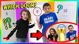 DON'T OPEN THE WRONG MYSTERY DOOR! | We Are The Davises