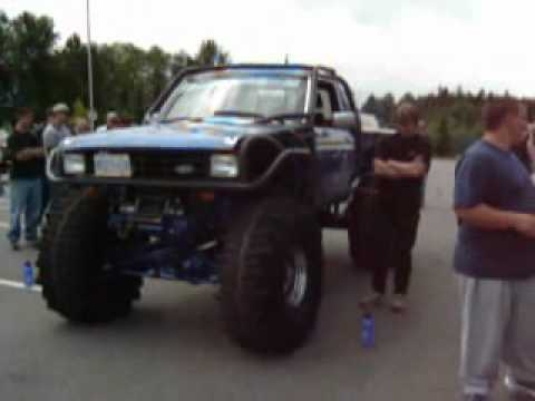 Toolbox Tom S 86 Ford Ranger Rock Crawl Race And 30 Degree