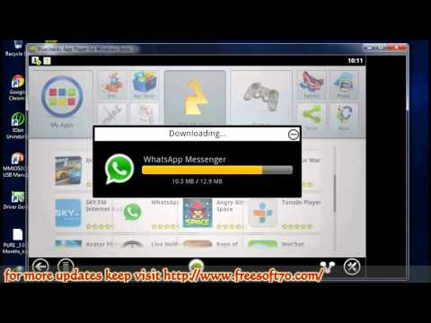 WhatsApp installation Tutorial Using Bluestacks