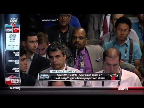 Bobby Ramos Question For Erik Spoelstra