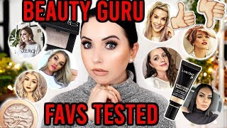 I Tried Beauty Guru's 2019 Favorites...