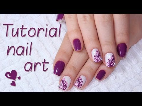 Tutorial Nail Art - Renda Sofisticada