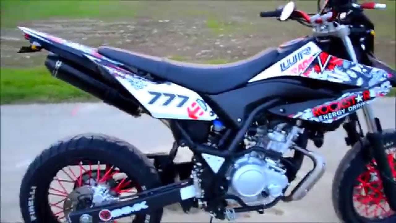 modfied yamaha wr 125 x walkaround youtube. Black Bedroom Furniture Sets. Home Design Ideas