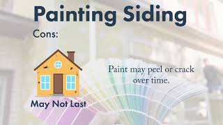 Painting Vs. Replacement Siding