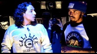 AHAT Rap Battle | Cali Smoov vs C.B. | Los Angeles vs San Bernardino
