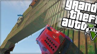 THE BEST WALLSLIDE EVER! (GTA 5 Funny Moments)