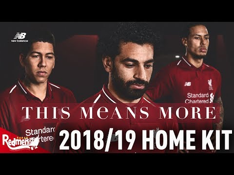 Liverpool's 2018/19 Home CLOSE UP HD UNBOXING!