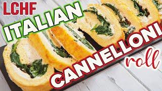 EASY Italian Frittata Roll LOW CARB Recipe