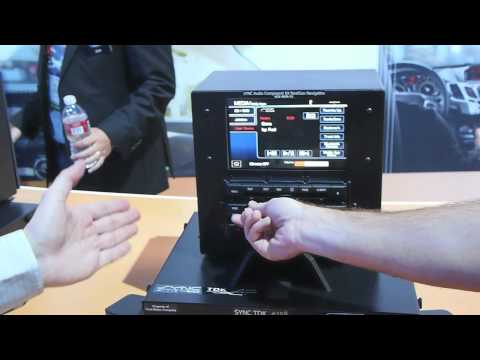 Ford shows off Sync vehicle iPhone and Android integration at CES 2012