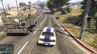 Grand Theft Auto V FPS Тест на Pentium G3240 3.1Ghz + GTX 660 2Gb + Afterburner + ShadowPlay