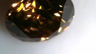 brd7 0 62 Carat Very Nice Goldbrown VS2 Video