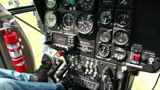 McDonnell Douglas MD530 F OM-MDM helicopter engine start / TEC-MONT /part2