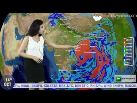 14/10/14 - Skymet Weather Report For India
