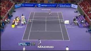 Del Potro vs Robredo - Play of the week