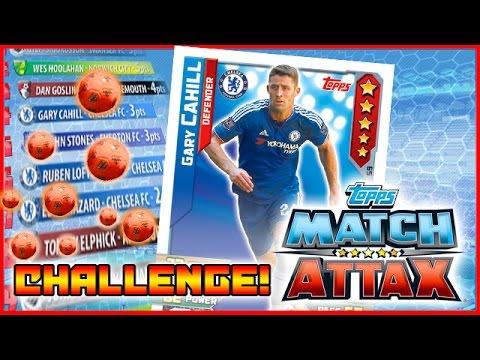 Match Attax | Gary Cahill  Challenge