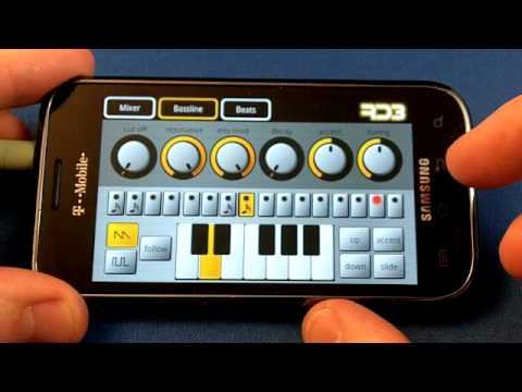 Mikrosonic RD3 Groovebox for Android