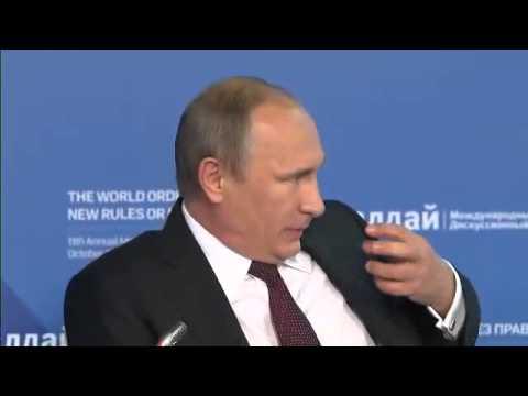 Путин жестко поставил на место американцев - Валдай форум