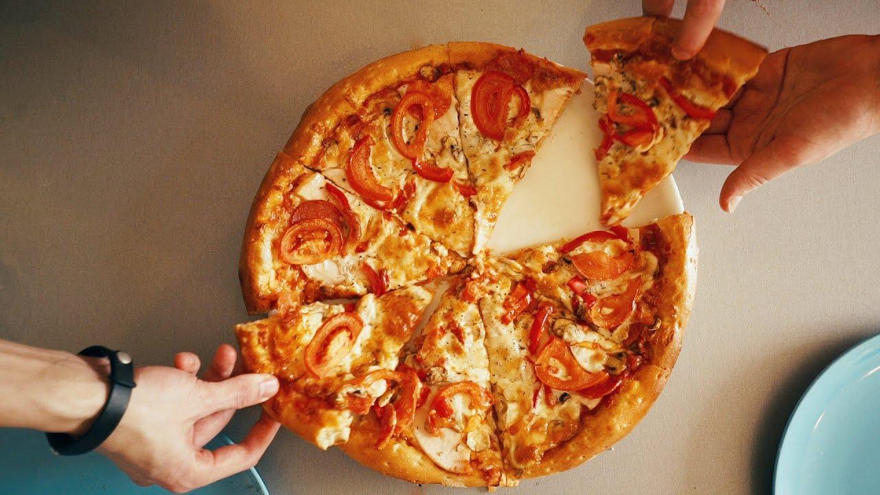 Как сделать тесто для пиццы и сам у пиццу своими руками 34