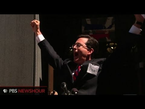 Stephen Colbert: 'I am a Super PAC and So Can You'