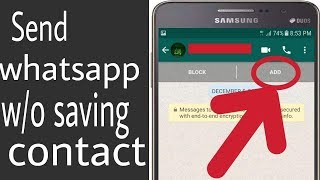 how to send whatsapp message without saving contact latest trick 2019