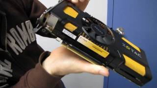 Zotac NVIDIA GeForce GTX 560 Ti 448 Unboxing & First Look Linus Tech Tips