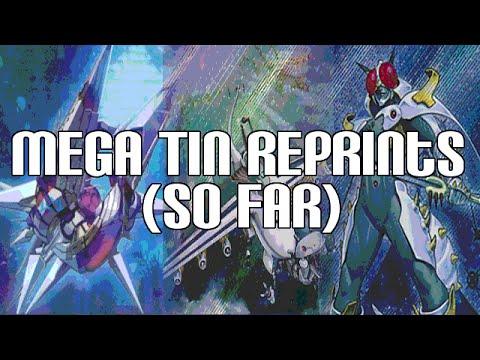 Yugioh Mega Tin Reprints (so Far) - Mecha Phantom Beast Dracossack video