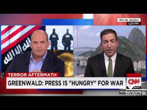Glenn Greenwald w/CNN: Media Generating Anti Muslim Climate; 11 22 2015