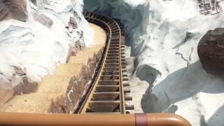 Expedition Everest POV Front Disney's Animal Kingdom Florida Roller Coaster