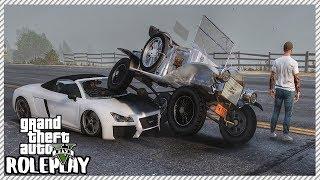 GTA 5 Roleplay - We Crashed 100 Year Old Car | RedlineRP #379