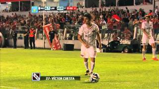 Gol de Cuesta. Independiente 4 - Lanús 1. Fecha 16. Torneo Primera División 2014. FPT