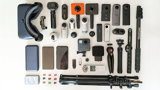 WHAT'S IN MY 360 CAMERA BAG???