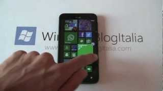 WindowsBlogItalia prova in anteprima Windows Phone 7.8 sull'HTC Titan