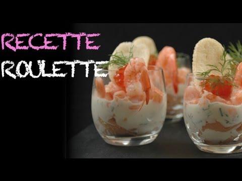 Verrines saumon crevettes oeufs de poissons youtube - Repas de noel vegetarien marmiton ...