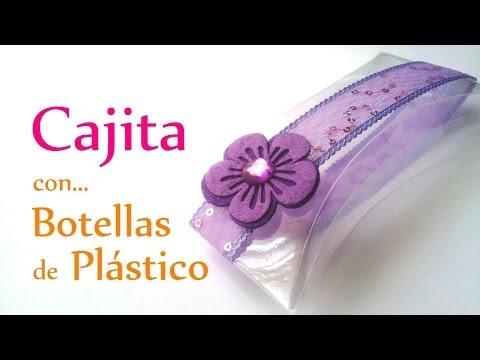 Manualidades: CAJITA con BOTELLA de PLÁSTICO (muy FÁCIL) Reciclaje - Innova Ma