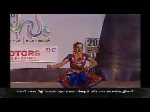 54th Kerala School Kalolsavam 2014 - Bharathanattyam - Malavika Krishnadas video