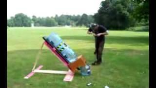 Giant Water Rocket