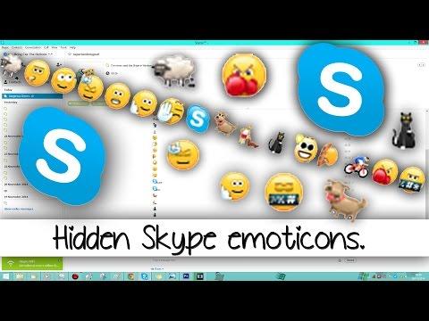 Some Hidden Skype Emoticons. ^.^