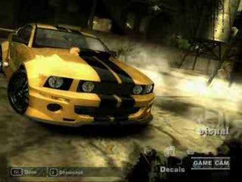 Need For Speed Most Wanted Mustang Gt Tuning By Weezard