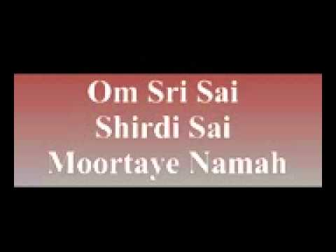 Shree Satyasaibaba 031 Om Sri Sai Shirdi Sai Moortaye Namah video