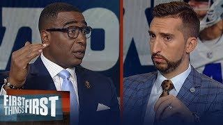 Nick & Cris disagree on if Dak Prescott receives unfair criticism | NFL | FIRST THINGS FIRST