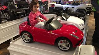 Rides for kids Cars Toys / Playing with Expensive Children