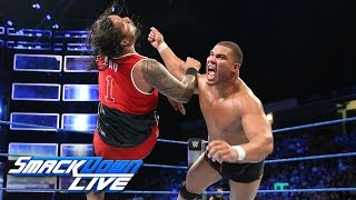 American Alpha vs. The Usos - Tag Team Title No. 1 Contenders' Match: SmackDown LIVE, Sept. 20, 2016
