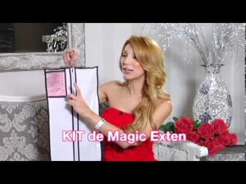 Extensiones de Cabello Magic Exten. Las mejores y mas faciles de aplicar