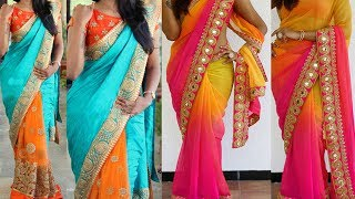 3 Different Styles Of Saree Draping with Makeup and Hairstyle To Do For Yourself |Makeover for Party
