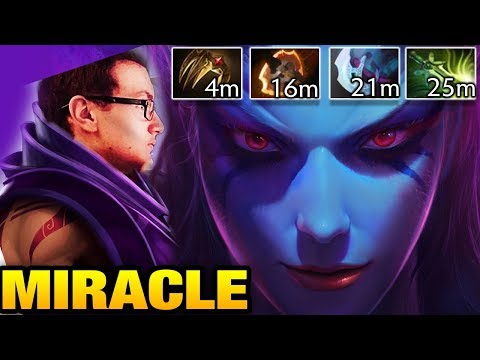 Miracle- [2 Games] QoP Mid and AM Jungling Dota 2