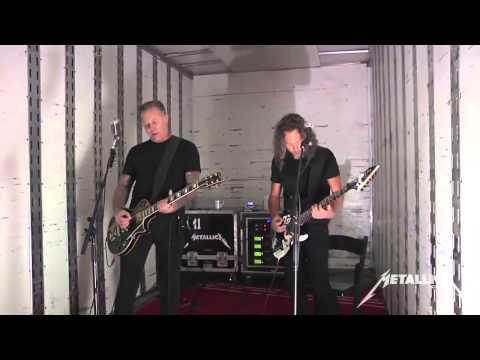 Metallica - Tuning Room - Cyanide San Francisco February 9, 2015.Residentx upload.
