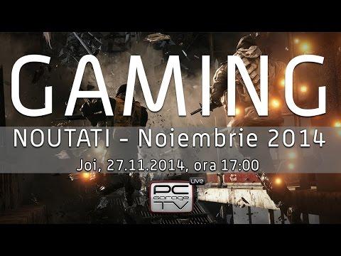 LIVE - Afla ce-i nou in gaming! Bonus: Ne jucam... ceva!